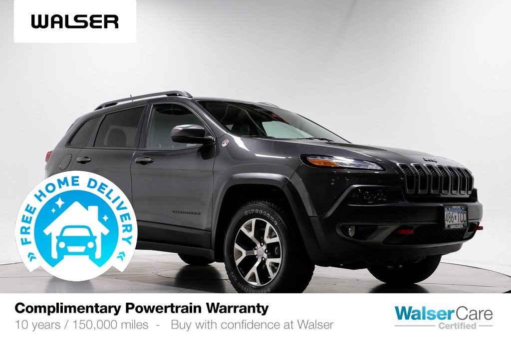 Pre-Owned 2015 Jeep Cherokee TRAILHAWK 4WD V6