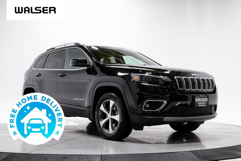 Pre-Owned 2019 Jeep Cherokee LIMITED 4WD V6