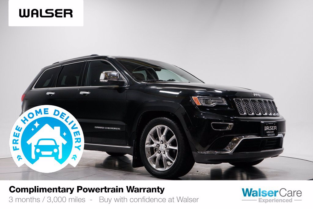 Pre-Owned 2016 Jeep Grand Cherokee SUMMIT 4WD V6