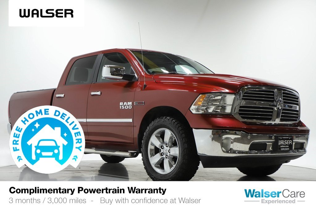 Pre-Owned 2015 Ram 1500 BIG HORN 4WD 3.0L