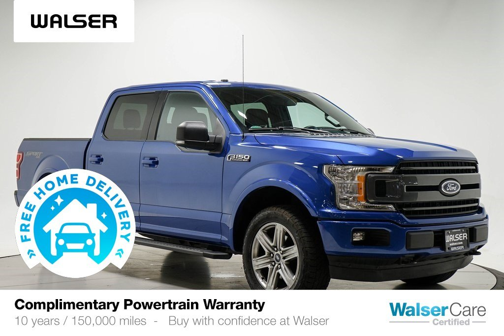 Pre-Owned 2018 Ford F-150 XLT 4WD NAV HTDSTS