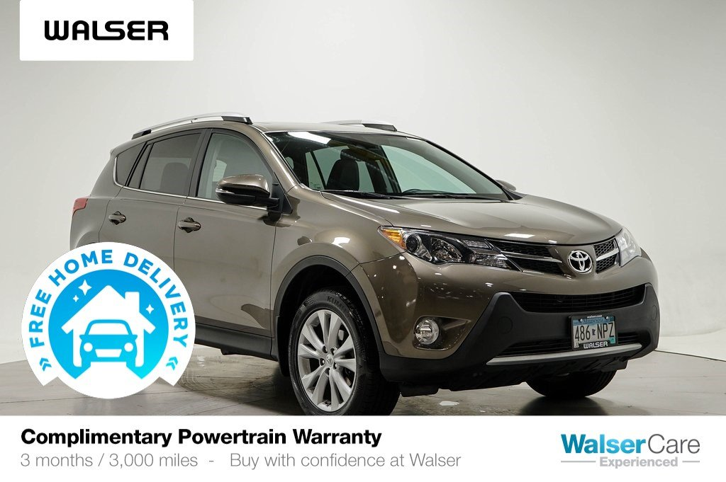 Pre-Owned 2014 Toyota RAV4 LIMITED AWD TECH