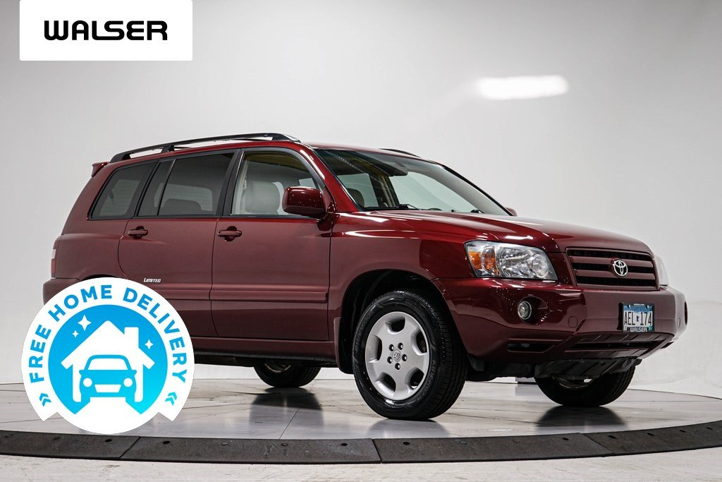 Pre-Owned 2007 Toyota Highlander LTD 4WD V6 MOON