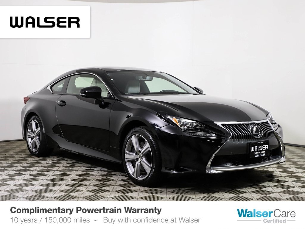 Pre-Owned 2015 Lexus RC 350 AWD PREM PKG NAV MOON