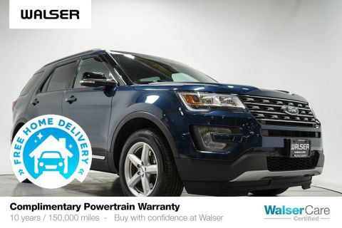 Pre-Owned 2017 Ford Explorer XLT TECH 4WD