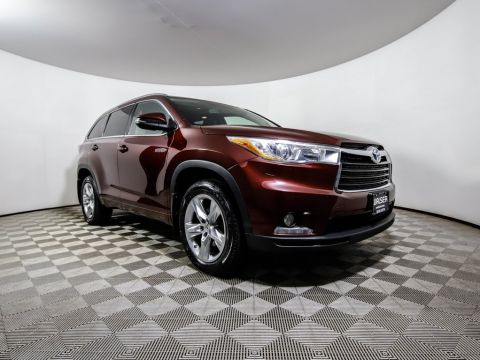 Pre-Owned 2015 Toyota Highlander Hybrid HYBRID Limited 4WD NAV Heated-Leather JBL Moonroof