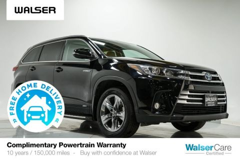 Pre-Owned 2017 Toyota Highlander LIMITED PLATINUM